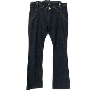 Neeso Juniors 13/14 Metallic Trim Flare Jeans